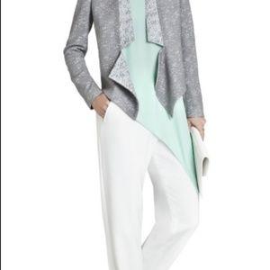 BCBGMaxAzria Grey Tweed Jacket